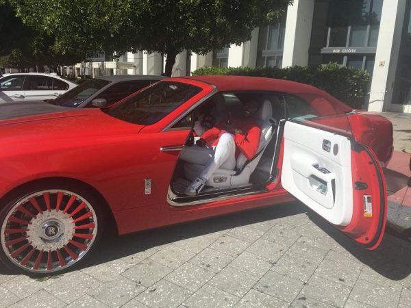 Gucci Mane Rolls-Royce Dawn