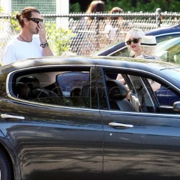 Gwen and Gavin Maserati Quattroporte