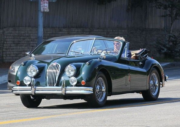 Harrison Ford Jaguar XK140