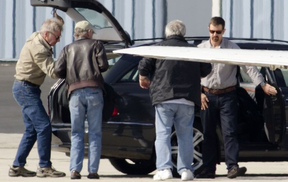 Harrison Ford Mercedes Benz