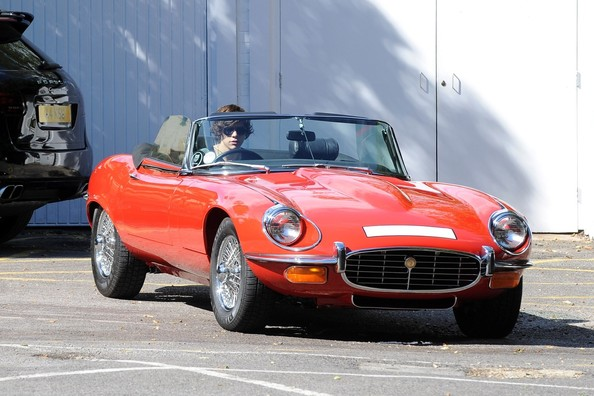 Harry Styles Jaguar