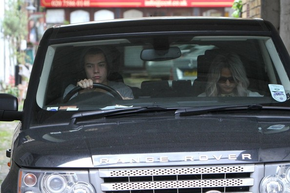 Harry Styles Range Rover