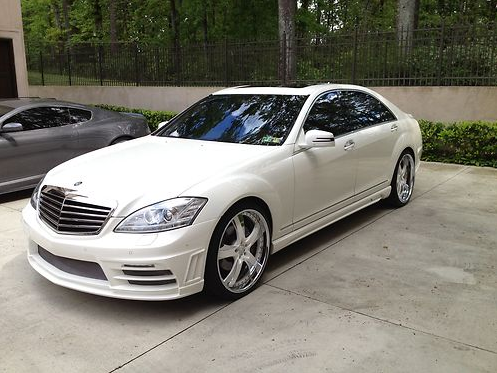 Hines Ward Mercedes Benz