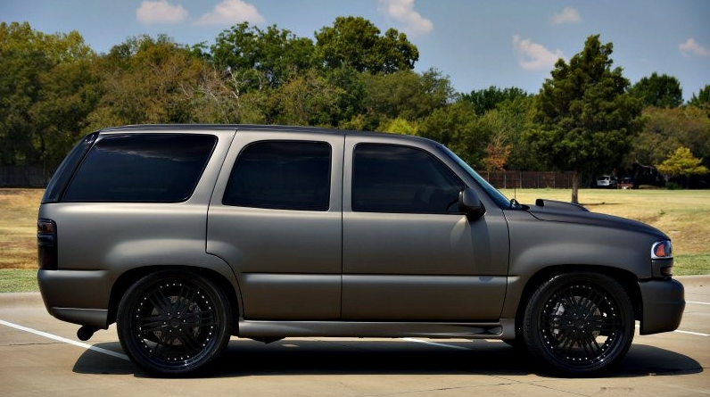 Hunter mahan invested how much into this gmc celebrity for How much does it cost to wrap a tahoe