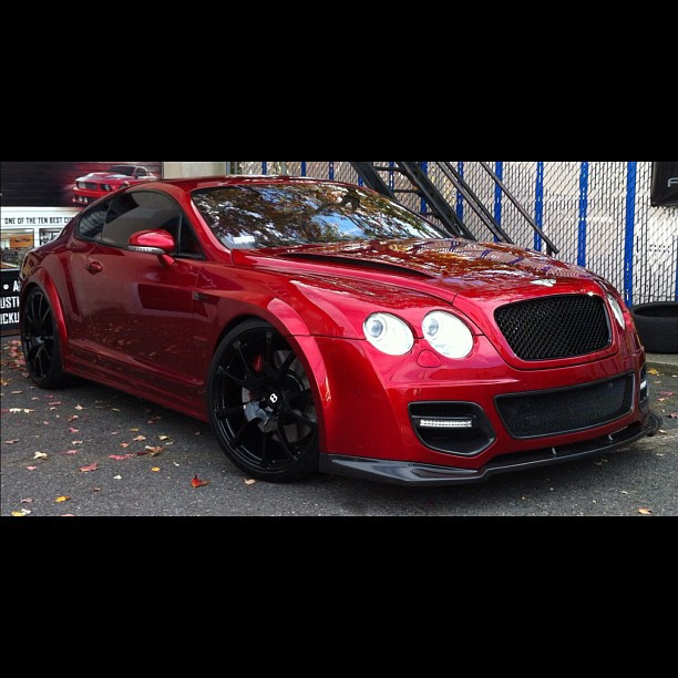 Ice-T Completes His Bentley Continental GT