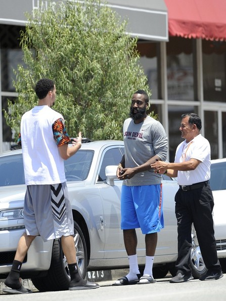 James Harden Rolls Royce Ghost