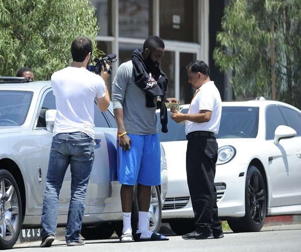 James Harden Rolls Royce