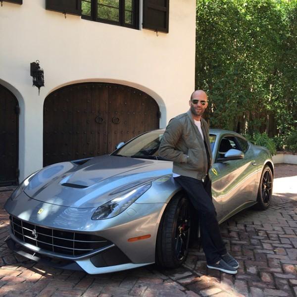 Jason Statham Ferrari F12