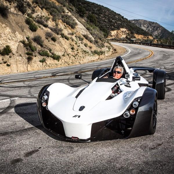 Jay Leno's Garage: Jay Leno Driving The BAC Mono