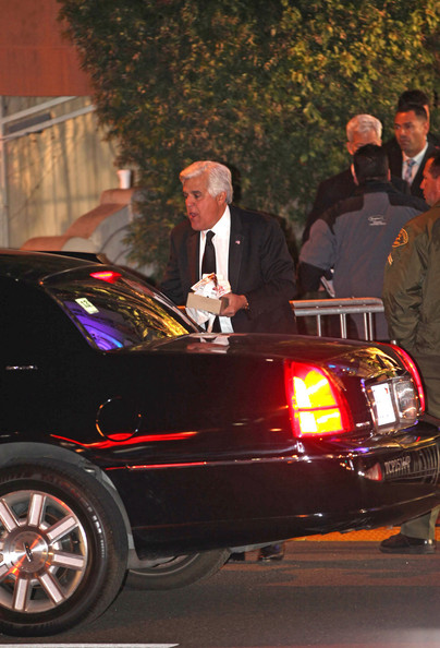 Jay Leno Town Car