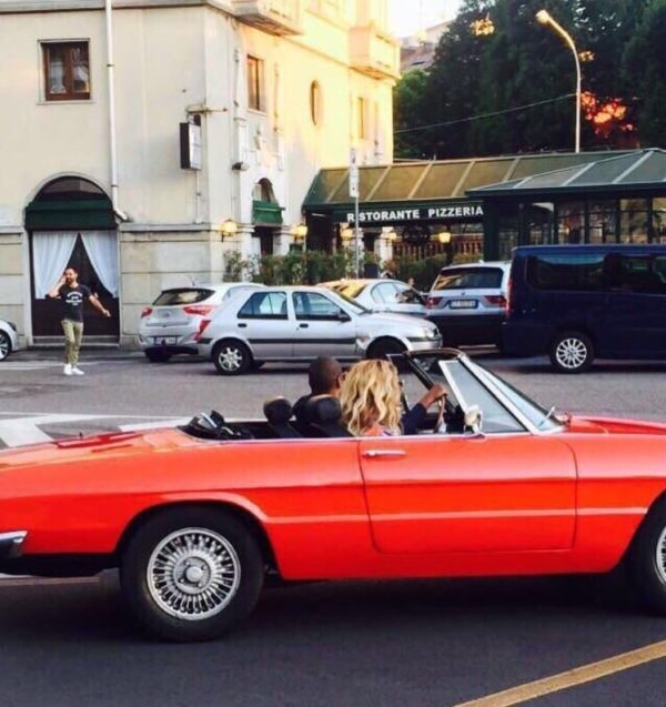 Jay Z Beyonce Alfa Romeo Spider