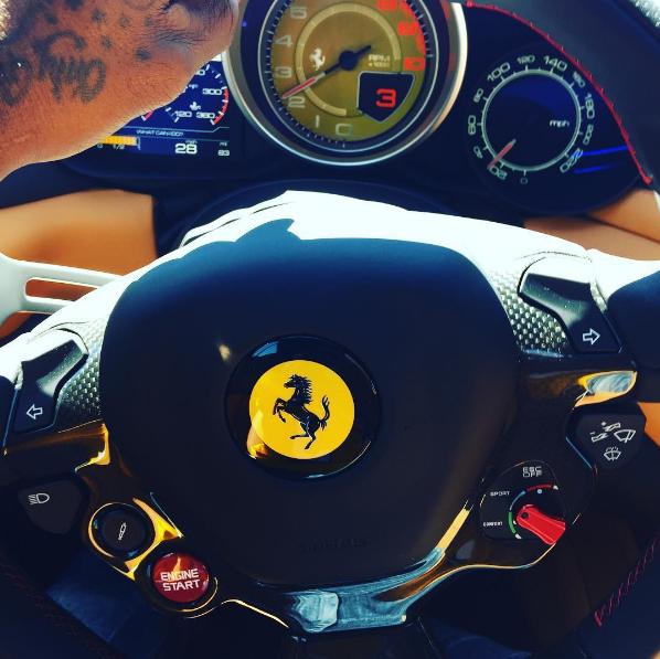 Jeezy Ferrari
