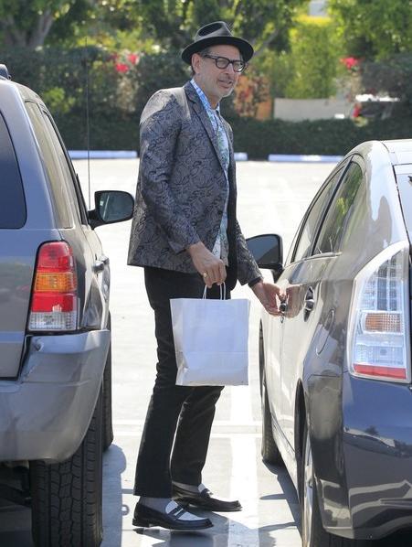 Jeff Goldblum Toyota Prius