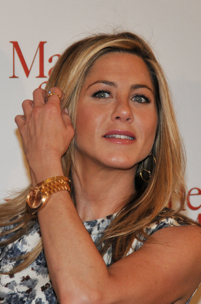 Jennifer Aniston Rocking Rolex Presidential