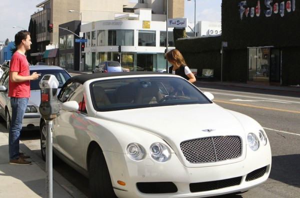 Jennifer Love Hewitt Bentley Continental