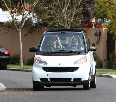 Jennifer Love Hewitt's  Smart Car