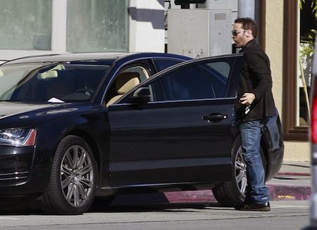 Jeremy Piven Audi A8