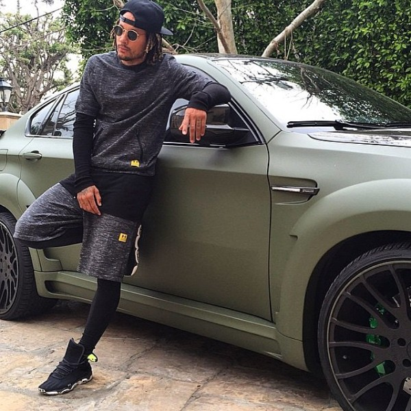 Jermaine Jones BMW X6