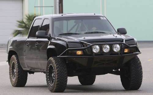 Jesse James' Baja-Styled Chevrolet Silverado Up Close