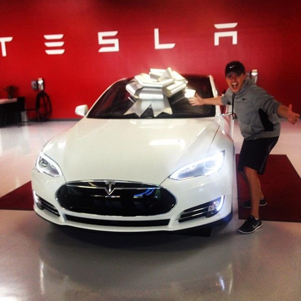 Jesse McCartney Tesla