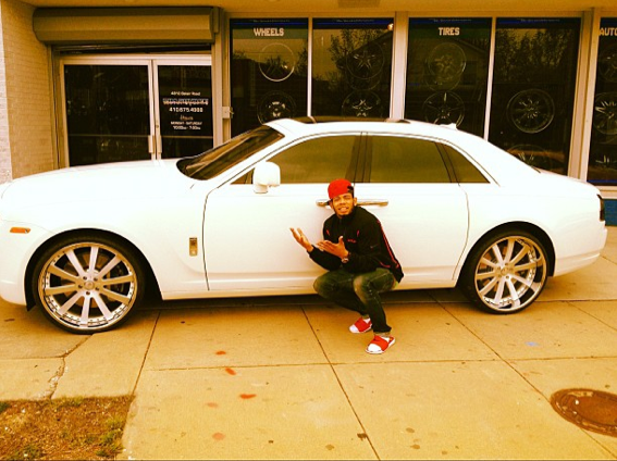 Joe Haden Rolls Royce