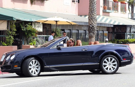 Johnny Hallyday Bentley