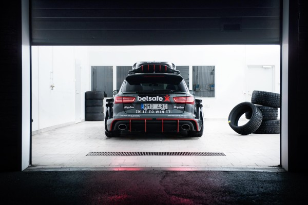 Jon Olsson Audi RS6 DTM Wagon