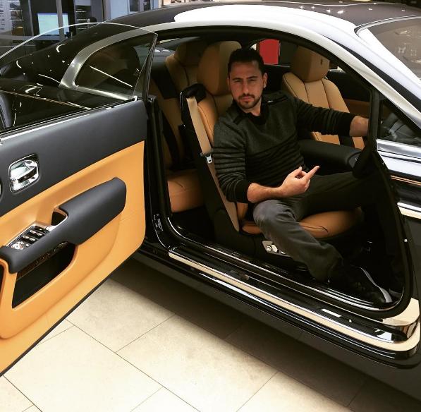 Josh Altman Rolls-Royce Wraith