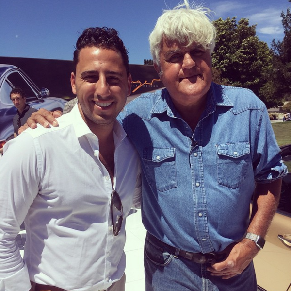 Josh Altman with Jay Leno