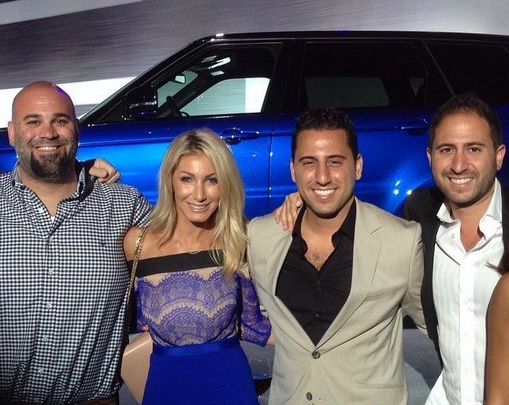Josh Altman with Matt Farah at the Land Rover SVR Event