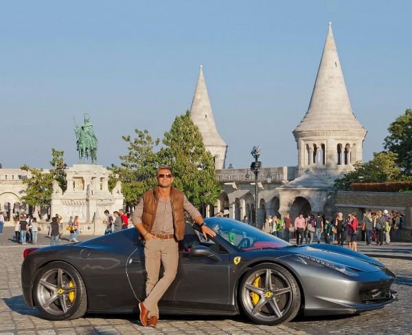 Josh Cartu Ferrari 2