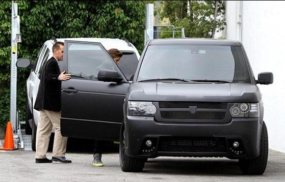 Justin Bieber Kahn Range Rover