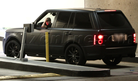 Justin's Range Rover