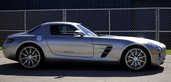 ?Justin Verlander Mercedes SLS