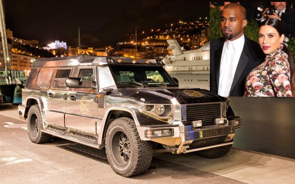 Kanye West Kim Kardashian Dartz Prombron