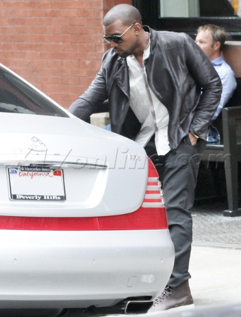 Kanye West Maybach 57s