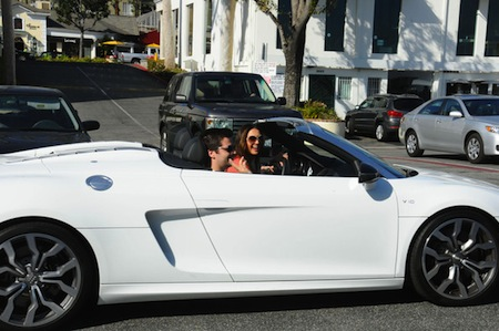Katie Cleary Audi R8
