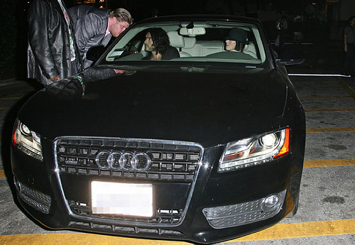 Katy Perry Stays Classy in the Audi A5