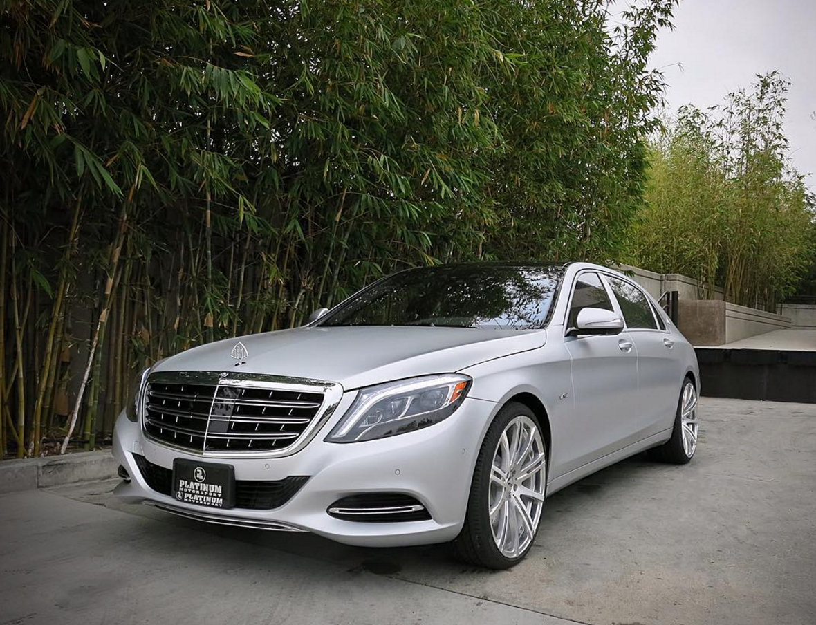 Kanye West's Mercedes S600 Maybach & Kim Kardashian's Ghost – Lets