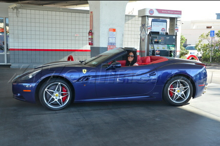 Kimora Lee Simmons Ferrari