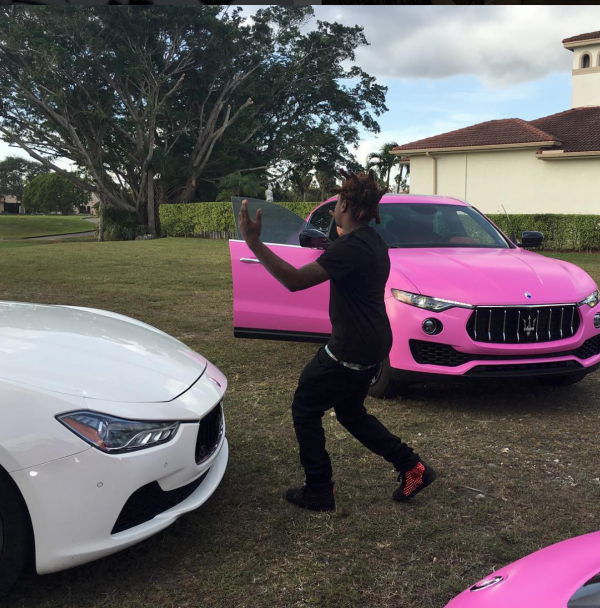 Kodak Black Has Two Maserati?s
