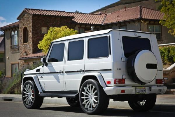 Kris Jenner G Wagon