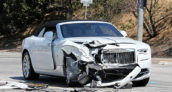 Kris Jenner Rolls-Royce Crash