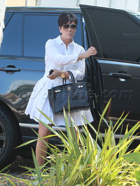 Kris Jenner Range Rover