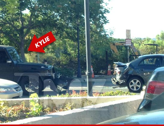Kylie Jenner G Wagon Crash