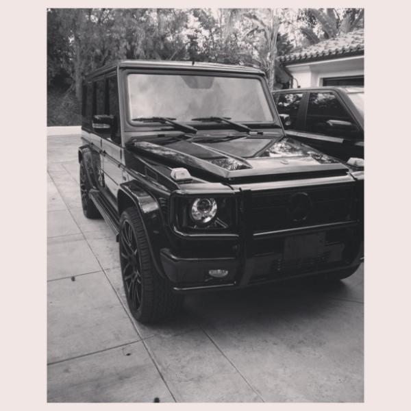 Kylie Jenner Mercedes Benz G Wagon