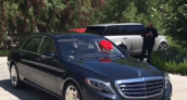 Kylie Jenner Mercedes-Benz Maybach S600