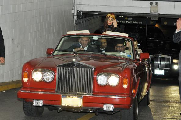 Lady Gaga Rolls Royce