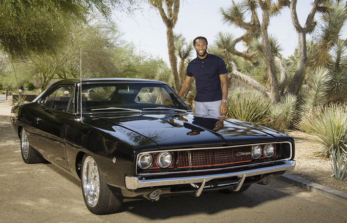 Larry Fitzgerald S 1968 Dodge Charger R T Celebrity Cars