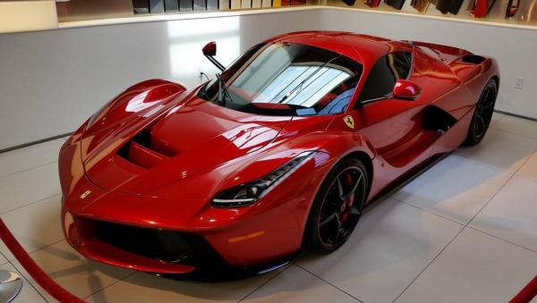 Lewis Hamilton La Ferrari